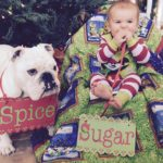 Bella & her baby: Sugar & Spice & Everything Nice!